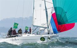 J/105 sailing San Francisco By