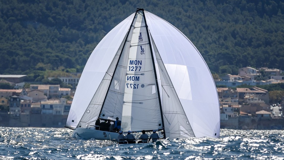 J/70 French Nationals off Marseille, France