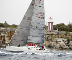 J/122 Jackpot sailing off Australia