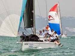 J/109 Whiskey Jack sailing Hong Kong China Coast regatta