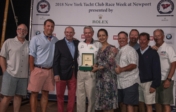 J/109 RUSH- Bill Sweetser- winners NYYC Race Week