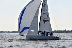 J/70s sailing high school nationals- ISSA