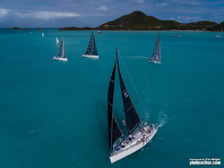 J/122 Liquid sailing Antigua