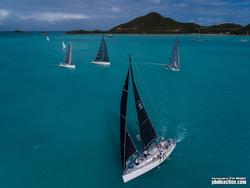 J/122 Liquid sailing Antigua