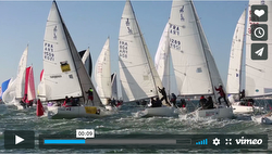 2018 J/80 Worlds video- Les Sables'de'Olonne, France