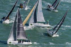 J/109s sailing Rolex Fastnet Race