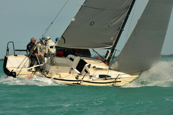 J/88 Wings- winner of Key West J/88 Midwinters