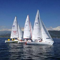 J/22s sailing Jamaica- Montego Bay