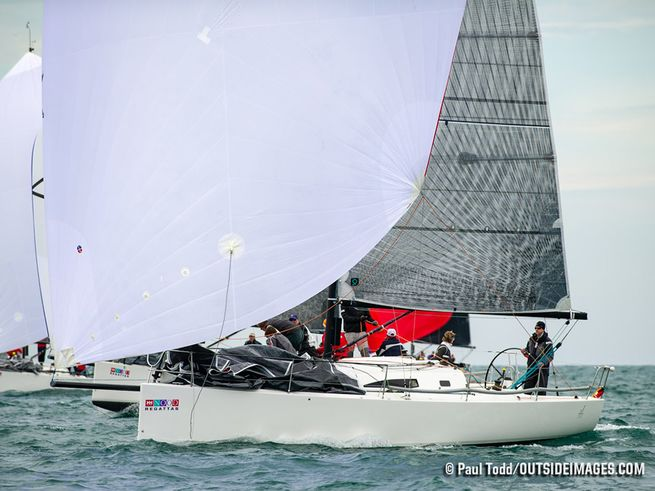 J/111s sailing Chicago NOOD regatta