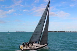 J/111 sailing Conch Republic Cup