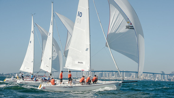 J/105s sailing at Lipton Cup- San Diego