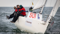 J/80 Switzerland team- winners Student Yachting World Cup