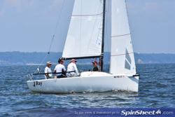 J/70 JRay sailing Screwpile
