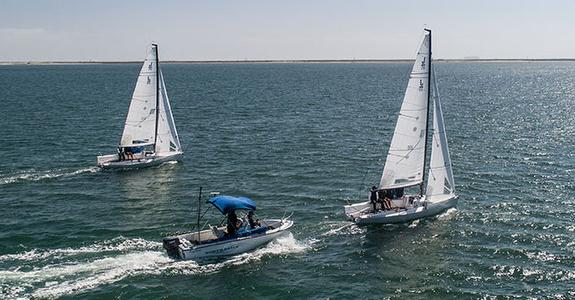 J/70s sail testing