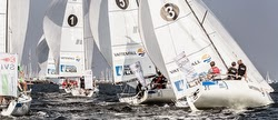 J/70 sailing Germany segel-bundesliga off Kiel, Germany