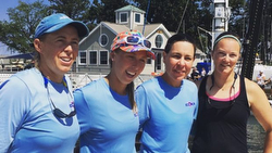 Womens Worlds winners- Everett and American YC team