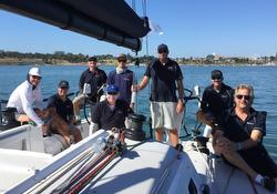 J/121 Javelin winning crew- sailing Festival of Sails