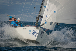J/70 wins Bol d'Or Mirabaud in Switzerland on Lake Geneva