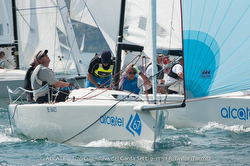 J/70's sailing Alcatel J/70 World Championship