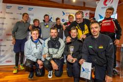 Finnish J/70 sailing league winners