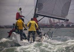 J/111 JAKE winning Melbourne offshore race