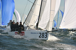 J/70s sailing World Championship