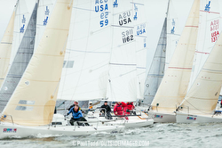 J/80s sailing Annapolis