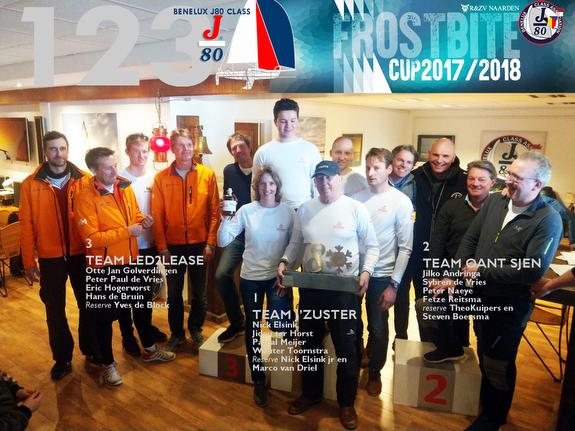J/80 Frostbite Cup- winners
