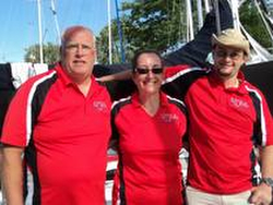 J/80 sailing team in Canada