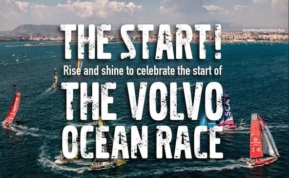 Volvo Ocean Race start- Newport YC