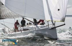 J/111 sailing San Francisco