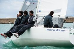 J/24 La Superba sails Italy