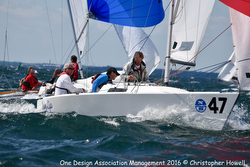 J/22 sailing Worlds off Kingston, ONT