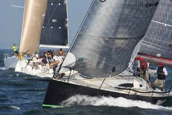 J/111 sailing Edgartown Round Island race