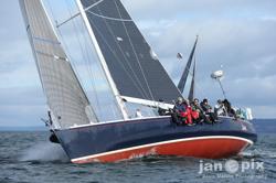 J/160 JAM sailing Seattle