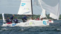J/70s racing Danish Sailing League