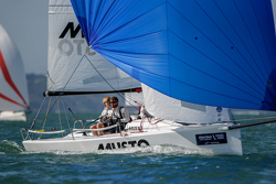 J/70 youth team at Cowes