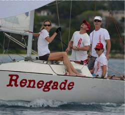J/22s sailing Montego Bay, Jamaica