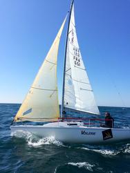 J/80 Voilerie All Purpose- winner of France Atlantic Telegramme