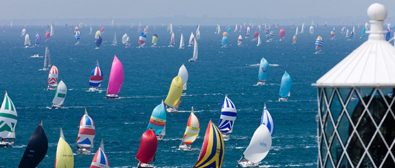 Round Island Race- Cowes, Isle of Wight