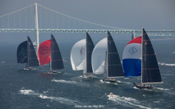 J/Class yachts in Newport, RI for Worlds