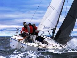 J/24 sailing Vic States in Australia