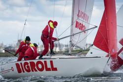 J/22 Bigroll sailing Van Uden Reco regatta