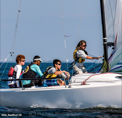 J/70 Youth sailors