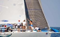 J/105 sailing Marblehead NOOD