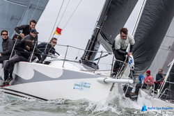 J/109 sailing North Sea Regatta