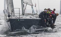 J/105 Young American sailing Ida Lewis race