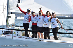 Women J/80 World University Sailing Champions