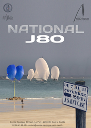 French J/80 Nationals in St Cast, France