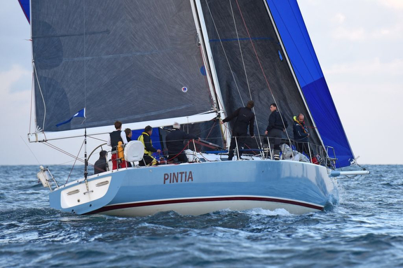 J/133 sailing RORC Cervantes Race